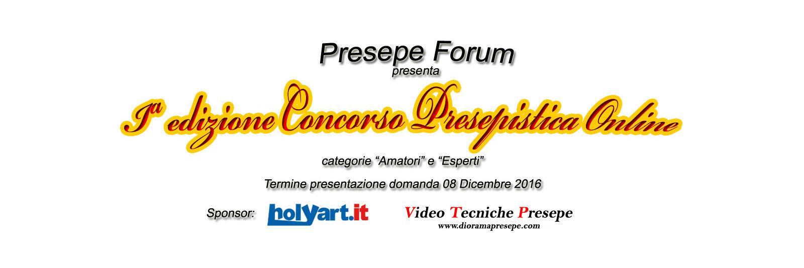 1a edizione concorso presepi online