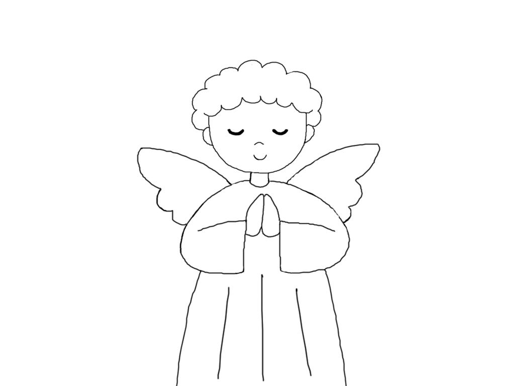 Disegni natalizi vari presepe forum for Figure di angeli da stampare