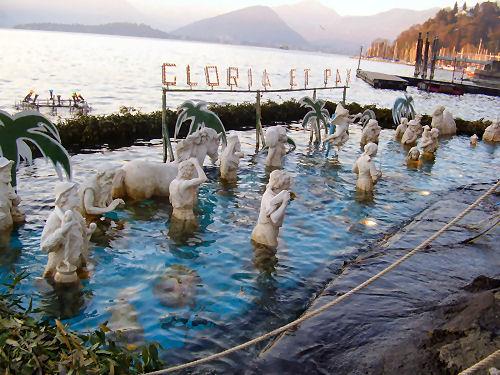 presepe sommerso laveno mombello lago maggiore