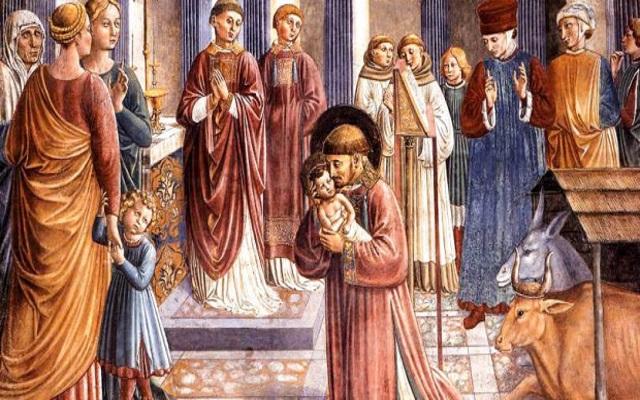 san francesco e la nascita del presepe