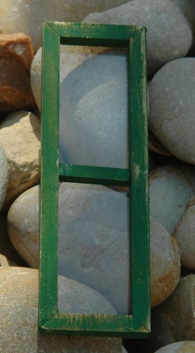 finestra presepe verde