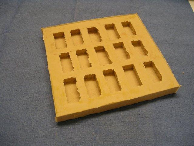 stampo mattoni presepe gesso