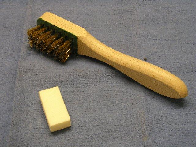 spazzola per mattoni presepe